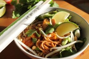 Pad Thai met krokantetofu